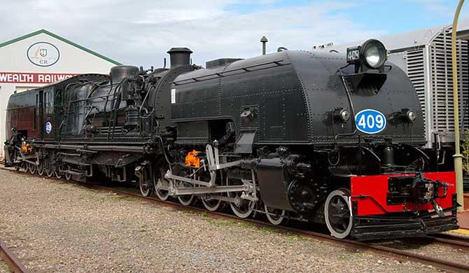 SAR_400_class_locomotive_no_409