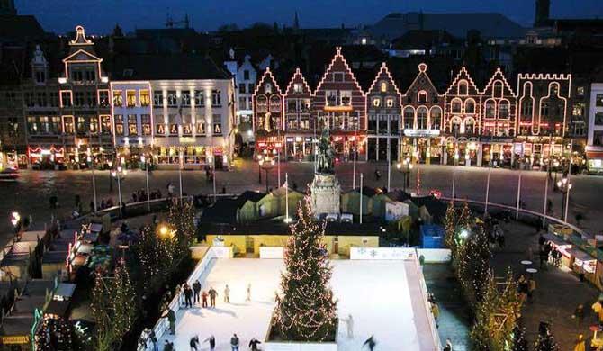 Christmas Markets London 2020 Dates Bruges Christmas Market Tour from London 2020 | Hostelman.com